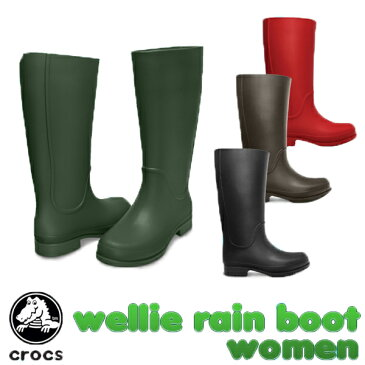 【送料無料】クロックス(CROCS) ウェリー レインブーツ ウィメンズ(wellie rain boot w) 長靴 【女性用】【楽ギフ_包装選択】【r】[CC]【50】