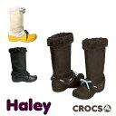 CROCS Haley Lady's クロックス ハレイ レディース ブーツ【ファー ウィンターブーツ スウェード 女性用】 [CC]【65】の商品画像