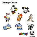 クロックス(CROCS)ジビッツ(jibbitz) ディズニー キューティー(Disney Cutie) /クロックス/シューズアクセサリー/ミッキー/キャラクター ゆうパケット