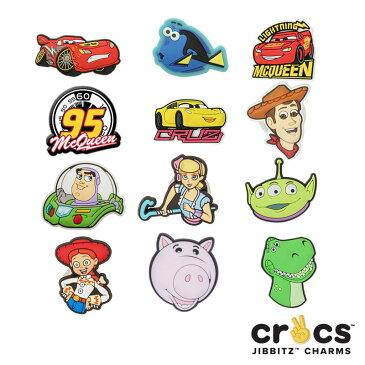 【メール便可】クロックス(CROCS)ジビッツ(jibbitz) ディズニー ピクサー(disney pixer)カーズ/ドリー/クロックス/シューズアクセサリー/キャラクター/[RED]【楽ギフ_包装選択】[AA]