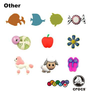 【メール便可】クロックス(CROCS)ジビッツ(jibbitz)たべもの/海の生き物(Food/Sea Animals) /クロックス/シューズアクセサリー/キャンディ/くじら[BLK]【楽ギフ_包装選択】[AA]