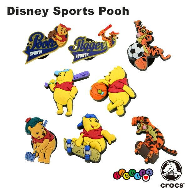 クロックス(CROCS) ジビッツ(jibbitz) ディズニー スポーツ クマのプーさん(Winnie The Pooh) /クロックス/シューズアクセサリー/キャラクター ゆうパケット可 [RED] [小物] [AA-1]画像