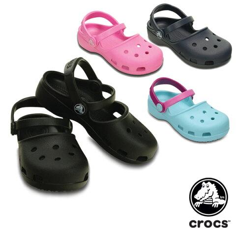 クロックス(CROCS) クロックス カリン クロッグ キッズ(crocs karin clog kids) サンダル【キッズ 子供用 女の子】 [AA]【25】
