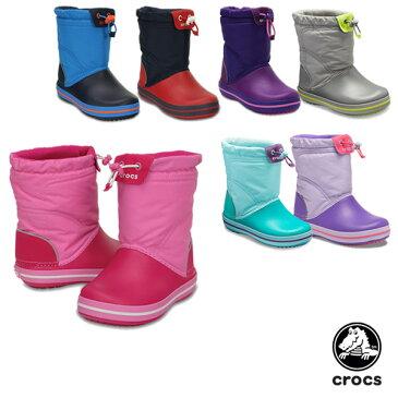 【送料無料】クロックス(CROCS) クロックバンド ロッジポイント ブーツ キッズ(crocband lodgepoint boot kids)【子供用】【楽ギフ_包装選択】【r】[BB]【20】