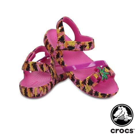 0a236223f237e  送料無料 クロックス(CROCS) クロックス リナ ライツ サンダル キッズ(crocs lina lights sandal kids) サンダル  ベビー   キッズ 子供用  楽ギフ 包装 ...