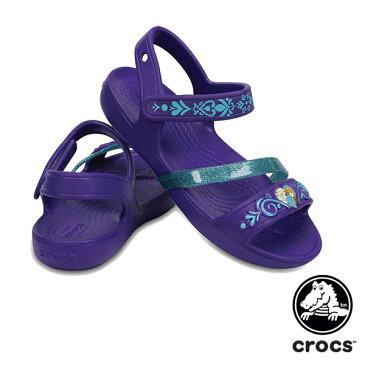【送料無料】クロックス(CROCS) クロックス リナ フローズン サンダル キッズ(crocs lina Frozen sandal kids) サンダル【ベビー & キッズ 子供用】【楽ギフ_包装選択】【r】[AA]