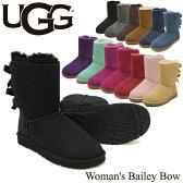 【送料無料】【正規品】アグ オーストラリア(UGG Australia)ウィメンズ ベイリー ボウ (Woman's Bailey Bow)シープスキンブーツ/ムートンブーツ【楽ギフ_包装選択】【27】
