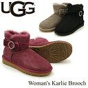 【送料無料】【正規品】アグ オーストラリア(UGG Australia) ウィメンズ カーリー ブローチ(Woman's Karlie Brooch)シープスキン ブーツ【楽ギフ_包装選択】[CC]