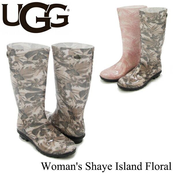 アグ (UGG) ウィメンズ シェイ アイランド フローラル(Women's Shaye Island Floral) レインブーツ/長靴 送料無料 正規品 [CC]画像