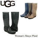 【送料無料】【正規品】アグ オーストラリア(UGG Australia) ウィメンズ シェイ プラッド(Woman's Shaye Plaid) レインブーツ/長靴【楽ギフ_包装選択】【21】[CC]