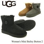 【送料無料】【正規品】アグ オーストラリア(UGG Australia)ウィメンズ ミニ ベイリーボタン 2(Women's MIni Bailey Button 2)シープスキンブーツ/ムートンブーツ【楽ギフ_包装選択】