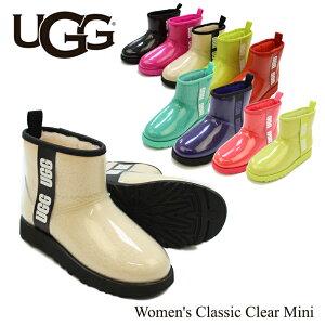 アグ (UGG) ウィメンズ クラシック クリア ミニ(Women's Classic Clear Mini)/レインブーツ/ショート レディース 【13】送料無料 正規品 [CC]