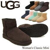 【送料無料】【正規品】アグ オーストラリア(UGG Australia) ウィメンズ クラシック ミニ(Woman's Classic Mini)シープスキン ブーツ【楽ギフ_包装選択】【25】