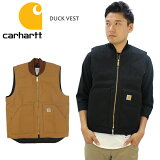 カーハート (Carhartt) DUCK VEST メンズ ベスト/アウター/ジャケット/US企画 送料無料 [BB]
