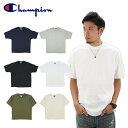チャンピオン(Champion) 7オンス コットン Tシャツ(Heritage 7 oz. Jersey Tee S/SL) (t2102) メンズ 半袖 Tシャツ ゆうパケット送料無料 US企画 [AA-2]
