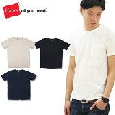 【メール便可】【ポイント10倍】ヘインズ (HANES)SPORTS WEAR Tee S/SL ポケット付きTシャツ (H3-F321) メンズ 半袖 Tシャツ【楽ギフ_包装選択】【r】