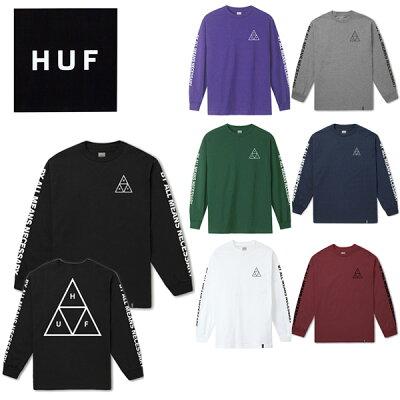 HUF(ハフ)30代40代メンズが着るべきロンTブランド