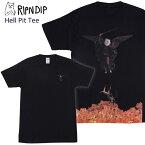 リップンディップ(RIPNDIP)Hell Pit Tee 《Black》 メンズ 半袖 Tシャツ ゆうパケット送料無料[AA-2]