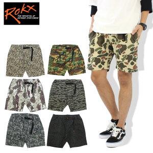 ロックス(ROKX) MG CAMOUFLAGE SHORT クライミング パンツ/ショート パンツ/メンズ/男性用 ポイント10倍 国内正規品 [AA]