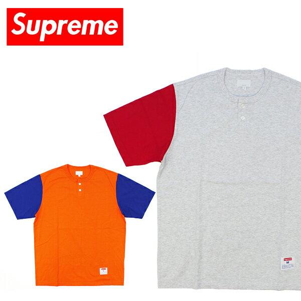 トップス, Tシャツ・カットソー Supreme2-Tone SS Henley Tee (2 T) T BB
