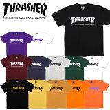 【30%OFF】【ポイント10倍】【ゆうパケット送料無料】スラッシャー(THRASHER) MAG LOGO Tee S/SL (TH8101) メンズ 半袖 Tシャツ[AA-2]