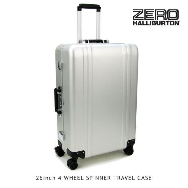 ゼロハリバートン(ZERO HALLIBURTON) ZRトローリー (26inch 4 WHEEL SPINNER TRAVEL CASE)【楽ギフ_包装選択】【40】[GG]:Neo Globe