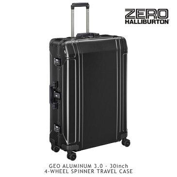 【送料無料】ゼロハリバートン(ZERO HALLIBURTON) ジオ アルミニウム 3.0(30inch 4-WHEELED SPINNER TRAVEL CASE)スーツケース/ビジネス ケース【16】【楽ギフ_包装選択】