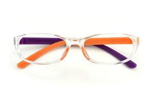 『簡易ラッピング対象』おしゃれな老眼鏡(シニアグラス)FLOAT(フロート)Lights(オレンジ・パープル)ブルーライトカット金属フリーマグネット付女性におすすめ!プレゼントにもおすすめ!