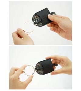 『簡易ラッピング対象』efluvi【LeatherStrapLoupe(レザーストラップルーペ)】GoldFrame/ストラップによりカバンなどに取付けて使えるルーペ