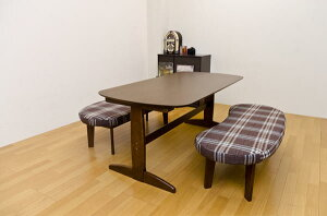 MADRASダイニングセット3点セット(テーブル+ベンチ)「ダイニング3点セットダイニングテーブル木製テーブルベンチダイニングベンチ」【代引き不可】