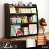 ソフト素材キッズファニチャー・リビングカラーシリーズ【L'kids】エルキッズ【本棚】ラージ