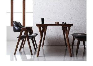北欧モダンデザインダイニング【VILLON】ヴィヨン/テーブル(W80)「天然木北欧ダイニングテーブルテーブル」【】【HLS_DU】