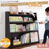 リビングキッズファニチャーシリーズ【SMILE】スマイル絵本棚