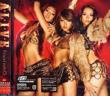 A-L-I-V-E [DVD付初回限定盤][CD] / Foxxi misQ