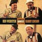コンプリート・クインテット・スタジオ・セッションズ + 4ボーナス・トラックス[CD] / ベン・ウェブスター&ハリー・エディソン