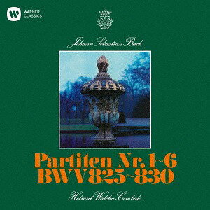 バッハ: パルティータ [UHQCD][CD] / ヘルムート・ヴァルヒャ (チェンバロ)
