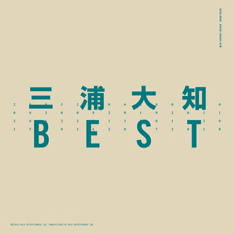 BEST [2CD+DVD][CD] / 三浦大知