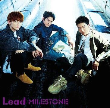 MILESTONE [2CD+スペシャルブックレット/初回限定盤 B][CD] / Lead