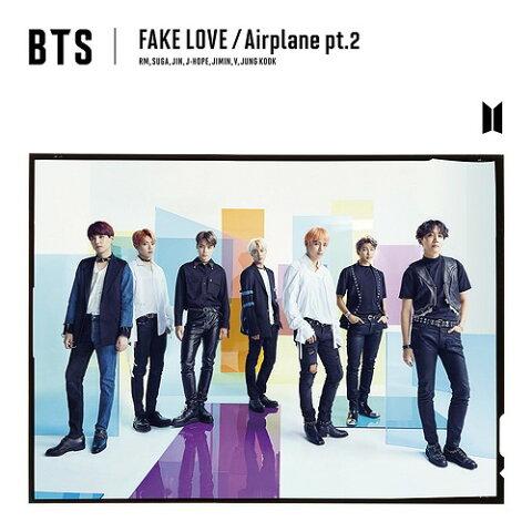 FAKE LOVE/Airplane pt.2 [DVD付初回限定盤 A][CD] / BTS (防弾少年団)