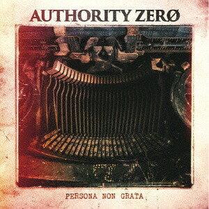 邦楽, インディーズ Persona Non GrataCD AUTHORITY ZERO