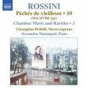 ロッシーニ: 老いのいたずら 第10集[CD] / クラシックオムニバス
