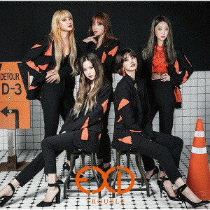 韓国(K-POP)・アジア, 韓国(K-POP) TROUBLE CD EXID