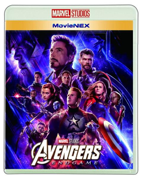 アベンジャーズ/エンドゲームMovieNEX Blu-ray+DVD  Blu-ray /洋画