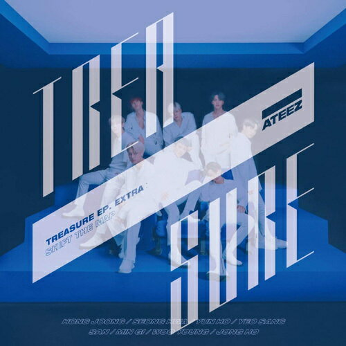 韓国(K-POP)・アジア, 韓国(K-POP) TREASURE EP. EXTRA: Shift The Map CDDVDType-ACD ATEEZ