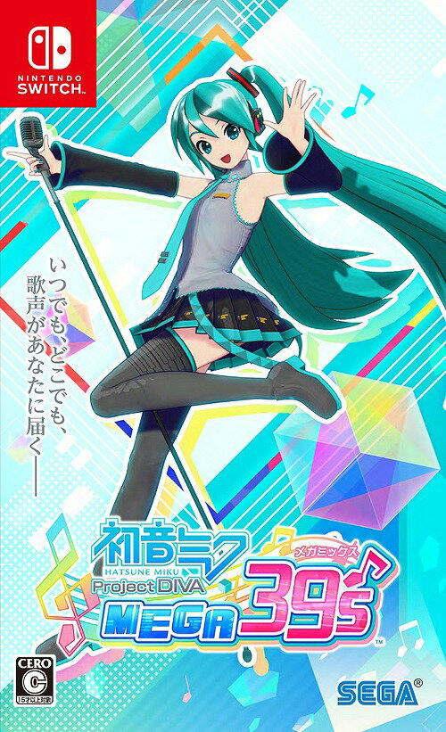 Nintendo Switch, ソフト  Project DIVA MEGA39sNintendo Switch