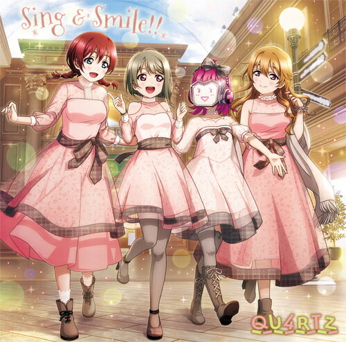 アニメソング, その他  QU4RTZ 1st: Sing Smile!!CD QU4RTZ (CV: ) (CV: ) (CV: ) (CV: )