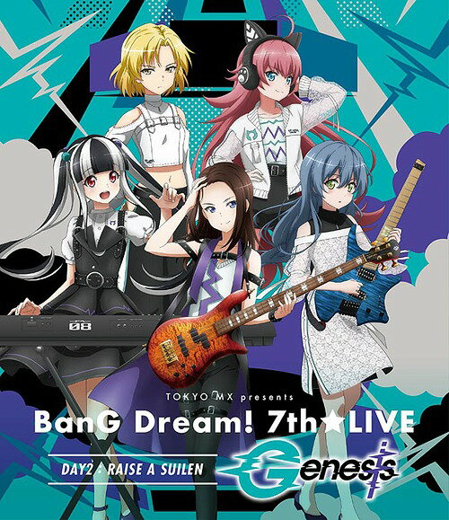 アニメ, その他 TOKYO MX presentsBanG Dream! 7thLIVE DAY2: RAISE A SUILENGenesisBlu-ray RAISE A SUILEN