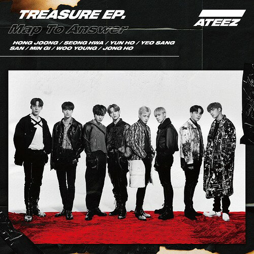 韓国(K-POP)・アジア, 韓国(K-POP) TREASURE EP. Map To AnswerCD CDDVDType-A ATEEZ