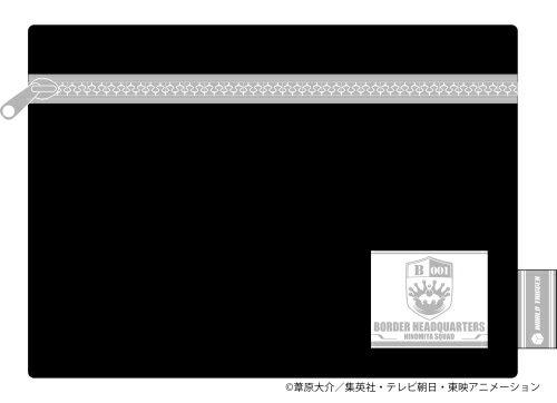 【ムービック】「ワールドトリガー」 フラットポーチ / 二宮隊【2021年7月発売】[グッズ]画像