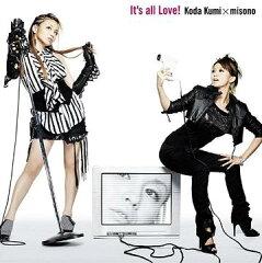 【送料無料選択可!】【試聴できます!】It's all Love! [CD+DVD/ジャケットA] / 倖田來未×mi...